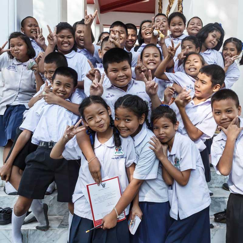 Thailand English Students